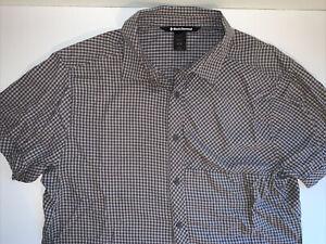 Black Diamond Short Sleeve Button Shirt, Men's Large