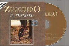 ZUCCHERO va pensiero CD SINGLE france french card sleeve