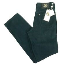 NWT Mens Navy Versace Straight Leg Jeans Sz W29 L30.5 W/ Medusa Head Detail