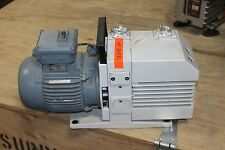 Leybold S25B Trivac Mechanical Direct Valve Rotary Vane Vacuum Rough Pump WORKS
