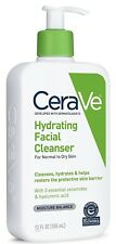 CeraVe Hydrating Cleanser Contains Ceramides 12 oz Packaging May Vary NEW & FAST