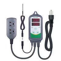 INKBIRD 220V Digital Thermostat Temp Controller ITC-308 NTC Sensor Sous vide US