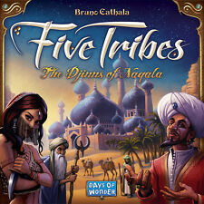 Five Tribes w/ Fakir Cards The Djinns of Naqala Board Game Days Of Wonder