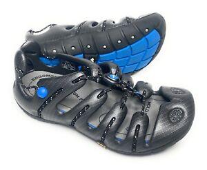 Mion Men's Gray Sandals Shoes 41.5 US 8 Ergonomic Custom Fit GSR