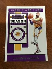2019-20 PANINI CONTENDERS YOU PICK BASE CARDS COMPLETE YOUR SET LEBRON 1-100