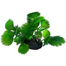 Plant On Base Natural Look Artifical Aquarium Decor Plant