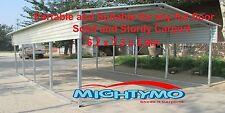LARGE STEEL Carport Shelter 6x7.3x3.9M Yard, Backyard shelter, Portable Carports