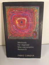 Methods for Applied Macroeconomic Research by Canova, Fabio