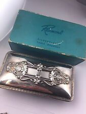 Vintage antique Raymond Silver plated Table Crumbled Original Box