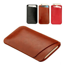Premium Slim PU Leather Pouch / Sleeve Case Cover for Apple iPhone 6/6s/7/7 Plus