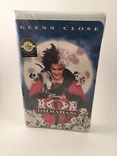 Disney's 101 Dalmatians #8996 Clam Shell Sealed New 1997 Glenn Close Live Action