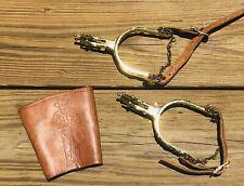 New ListingVintage Roy Rogers? Children'S Cowboy Western Spurs Set & Mordt Wrist Cuff