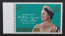SOLOMON ISLANDS 1980 QEII Queen Mother. Set of 1. Mint Never Hinged. SG421.