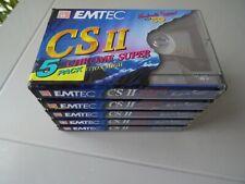 Kassetten für Kassettenrecorder OVP 5 Stück