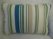 "HARLEQUIN FABRIC ""RUSH"" OBLONG CUSHION  20"" X 14 ""(51 CM X 36 CM)"
