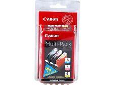 Original CANON 3-Set BCI-6 C M Y iP4000  iP5000/ i865/  MP750  MP780 Multipack