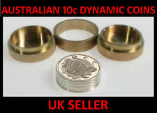 Australian 10 cent Dynamic Coins Close Up Magic Trick With Coins & Instructions