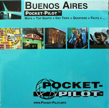 NEW 2005~MAP OF BUENOS AIRES, Argentina~PocketPilot Map w/Top Sights & Subway