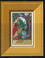 HUNGARY-1967.Souv.Sheet - Paintings III. (Art) MNH!!! Mi Bl.61