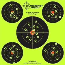 5 Bullseye for Target Shooting w/ People Reduced Vision & Great Idea Gift 25pcs
