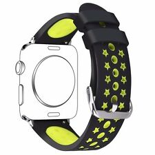 iWatch Silicone Replacement Sport Wrist Bracelet Strap Band for Apple Watch 42mm