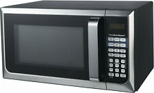 New Hamilton Beach 900W 0.9 Cu. Ft. Counter-Top Stainless Steel Microwave Oven