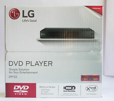 LG DP132 Multi-Format DVD Player with USB Port & Multi-Format Playback in Black