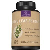 Premium Olive Leaf Extract Capsules - Standardized To 20% Oleuropein - 120 Caps