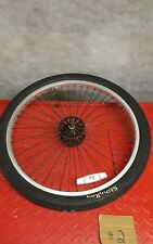 """Schwinn OCC Chopper 20"""" bicycle #2 complete front rim assembly"""