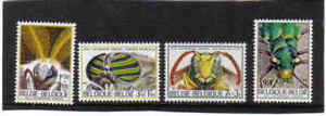 BELGIUM 1971 insects MNH** 1610/13