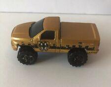 Matchbox 2002 Mattel Dodge Ram SRT-10 Gold & Black Diecast Toy Truck 1:70