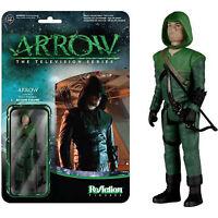 Arrow Freccia Verde ReAction Figure con Blister 8 cm circa Originale Funko