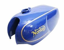 Norton Commando Roadster Combat Gas Petrol Fuel Tank Steel Blue Painted CAD