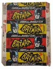 A&BC 1966 Batman 3D Red Bat Cards Plus Bubble Gum Variant Wax Wrapper
