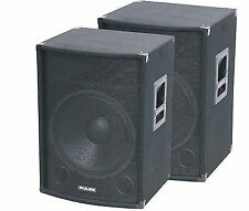 "Pulse Pvs12 12"" Speaker DJ PA Theatre Disco Karaoke 250w Sound System Audio Band"