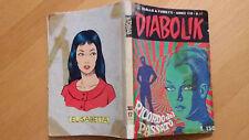 DIABOLIK anno VIII n.17  Ricordo del passato  ORIGINALE  Sodip 1969