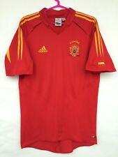 SPAIN NATIONAL TEAM 2003 2004 ADIDAS HOME FOOTBALL SOCCER SHIRT CAMISETA