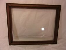 "Antique PINE frame 19 3/4 x 25  holds 16 3/4 x 22  molding 2""."