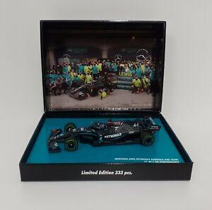 Die Cast 1:43 Model Car Formula 1 MINICHAMPS Mercedes Hamilton Turkey 2020