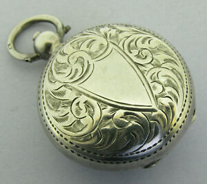 Antique Edwardian Sterling Silver Sovereign Case Bir 1903