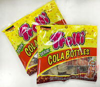 2x 32g Trolli Brite Cola flavor Sour Jelly Gelatin candy Sugar season