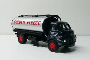 """Bedford """"S"""" Type Fuel Tanker 1/64 Diecast Golden Fleece Custom Graphics"""