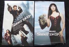 SHOOT EM UP movie poster LOT of 2  MONICA BELLUCCI CLIVE OWEN Original DS One sh