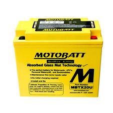 Batteria potenziata MBTX20U Motobatt Harley Davidson XLH 883 Sportster 86-03