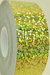 SEQUINS Holographic Sparkle Tape, Pick Color & Size, glitter twinkle sticky tape