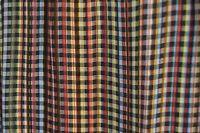 PAUL SMITH Signature Stripe multistripe checked gingham check striped scarf