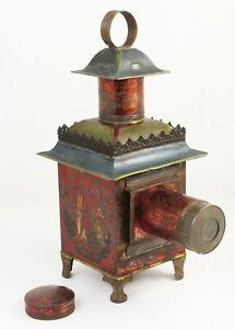 Lanterne magique Chinoise LAPIERRE Paris France Hauteur 36 cm Vers 1880