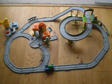 CHUGGINGTON TRAIN LAYOUT WITH LOADS OF SPARES  AND WILSON LOCO WITH TWO WAGONS