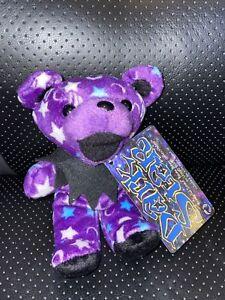 "1998 Grateful Dead Beanie Bear DARK STAR Stuffed Plush Liquid Blue 6"""