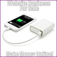 Fully Stocked Dropshipping Smartphone Power Bank Website Store 300 Hits A Day